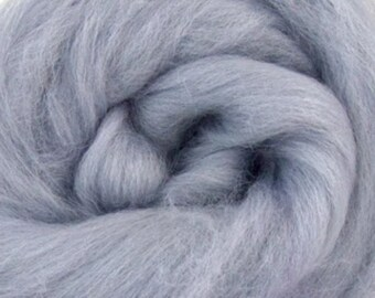 Seal Corriedale 2 oz  Roving for Felting Spinning Fiber Arts