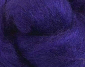 Florence Merino Tussah Silk Combed Top Wool Two Ounces for Felting and Spinning