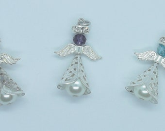 Cute little angels, several colors available to order, good luck! Angels! Many colors!