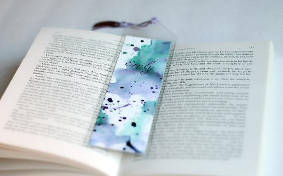 HEALLILY Segnalibri Decorativi 30Pcs Segnalibri in Pvc Segnalibri Glitter per Libri di Riviste di Libri per La Scuola di Home Office