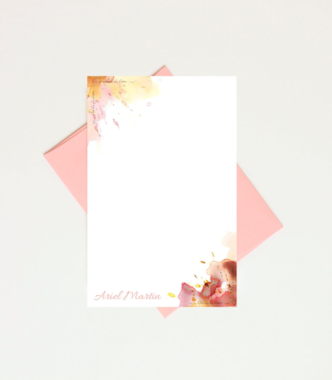 Personalized Papers Executive Stationery: Personalized Stationery Paper Christmas Gifts For Mom