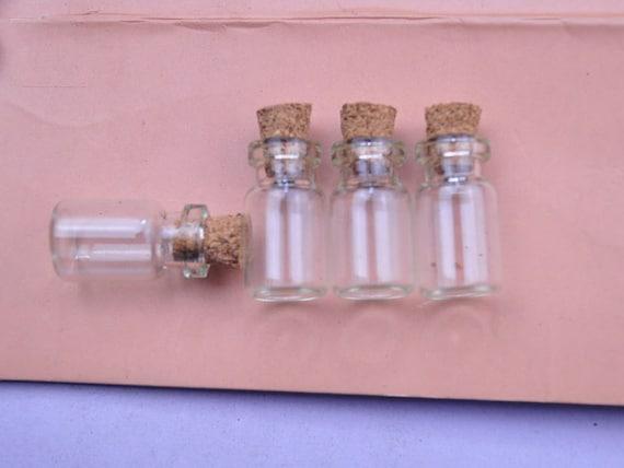 60pcs small glass bottles 23x13mml cute little glass jars etsy