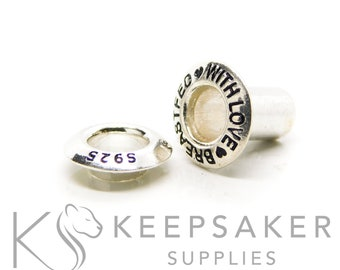 Bead Cores - Solid Sterling Silver
