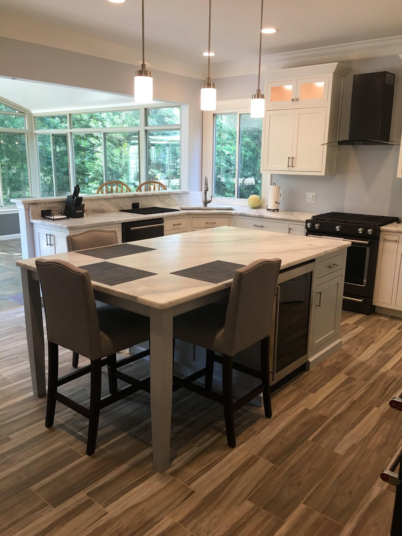 Custom Kitchen Cabinets and Custom made Islands