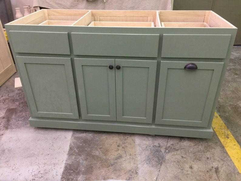 Item # 104 kitchen Island Cabinet only
