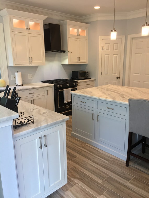 Custom Kitchen Cabinets And Custom Made Islands Etsy