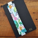 Bright Animal, bookmarks, planner accessory, planner bookmark, planner penholder, journal accessories, journal penholder, journal pen sleeve