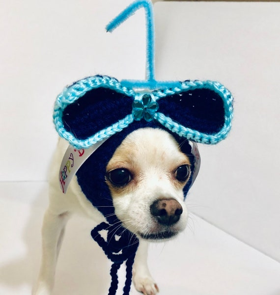 Dog Birthday Hat Party Costume Small