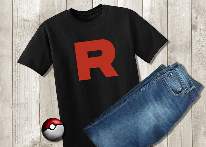 f7e93cd0 Pokemon Go Team Rocket Shirt Pokemon Tshirt Team Rocket | Etsy