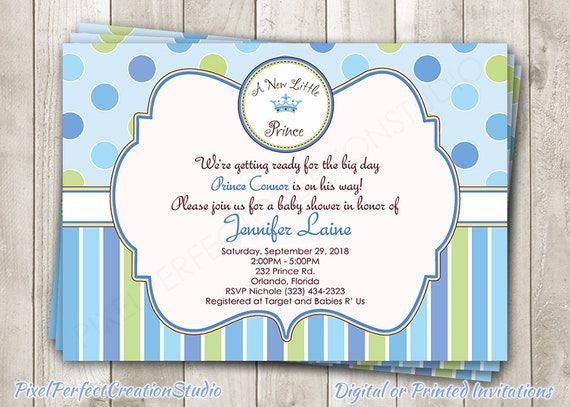 A new little prince baby shower invitation royal baby shower etsy image 0 filmwisefo