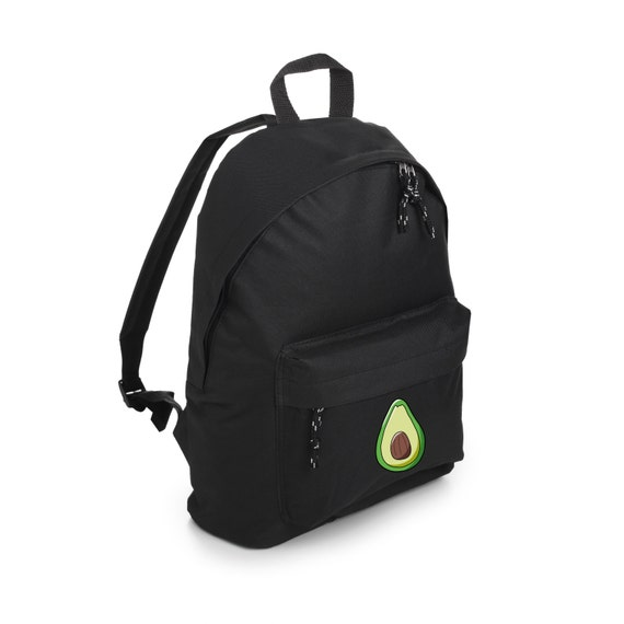 676bca6f115 Avocado Backpack School Bag Rucksack Sports Travel Tumblr