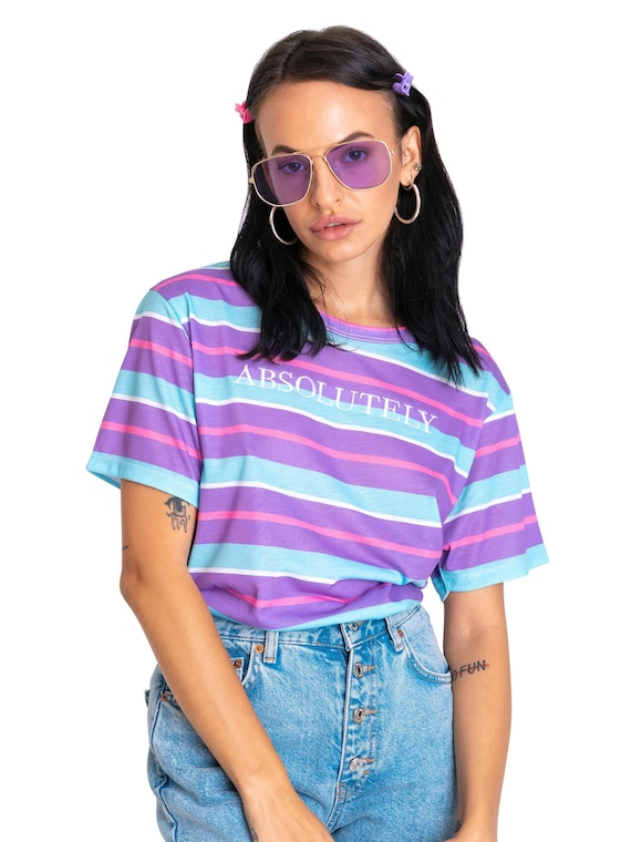 RAINBOW SCOOP BODYSUIT EMBROIDERED WOMENS TOP TUMBLR HIPSTER GRUNGE KAWAII CUTE
