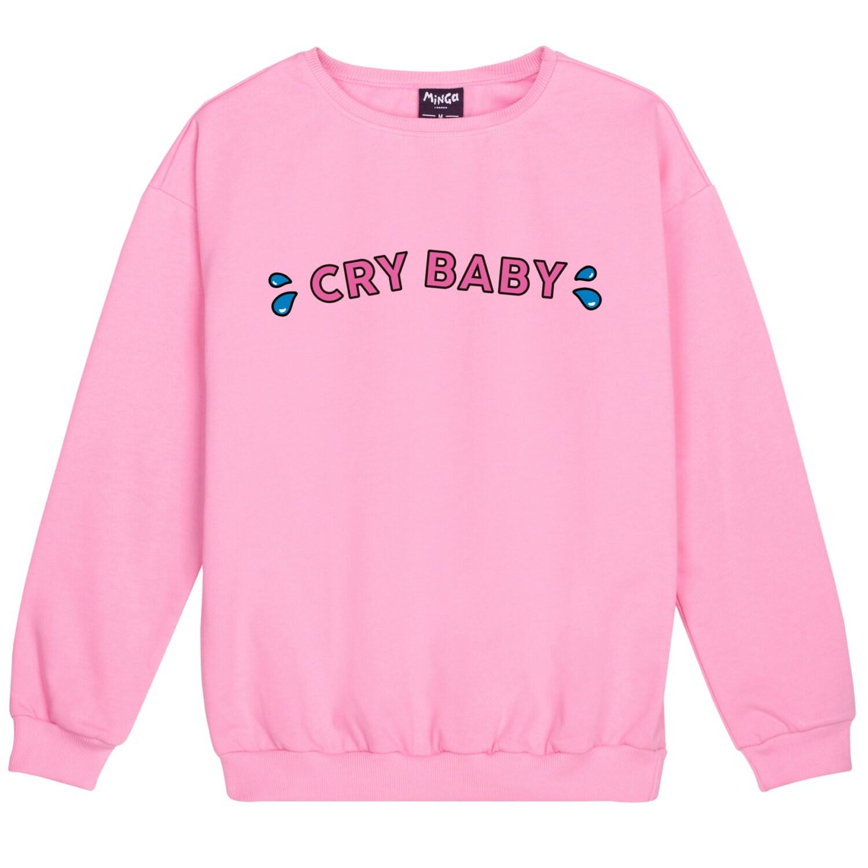 Grito bebé suéter puente mujeres señoras sudadera Tumblr lema