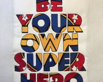 Be Your Own Super Hero – Wonder Woman Machine Embroidery Design 5x7 AND 6x10