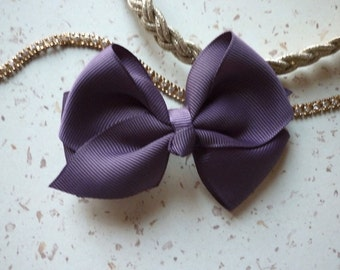 hair bow clip, hair bow, bow, 9 cm in length (3.54 inches)