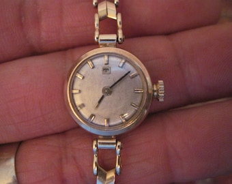 5ef525883 Vintage 9K Solid Gold TISSOT Manual Ladies' Wristwatch with 9K Solid Gold  Band; Serviced and Working
