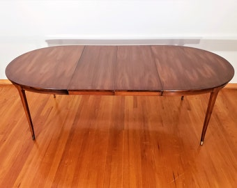 3140b62249de Mid Century Vintage White Furniture Company Dining Table