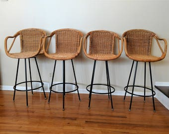 Popular Items For Rattan Bar Stool