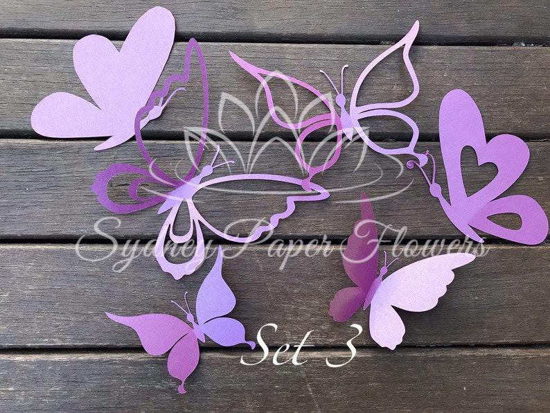 Paper BUTTERFLIES_set 3/Paper butterfly pattern/PDF svg paper image 0