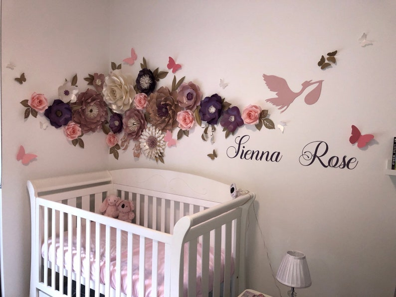 ITS a GIRL BOY paper flower backdrop/Paper flower wall/Wedding image 0