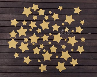 Pack of 55 paper stars