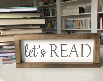 Let's Read Sign