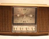 Vintage Sears Transistor Clock-Radio
