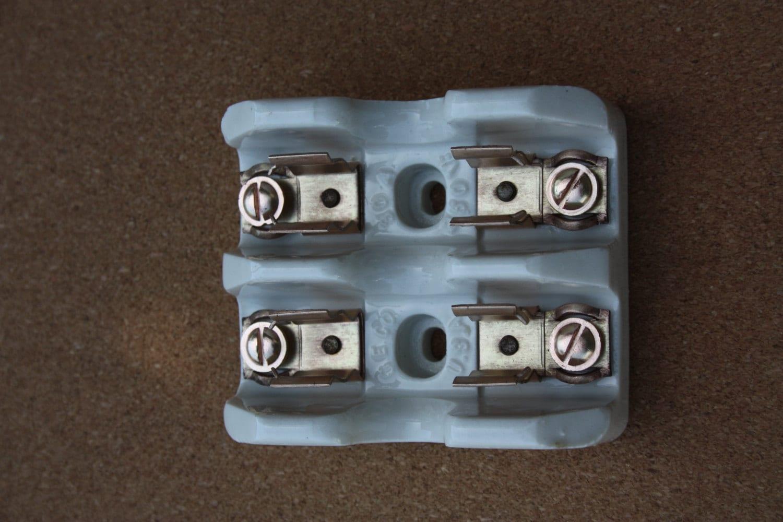 Vintage Ge Porcelain Fuse Holder Etsy Rk5 In Box