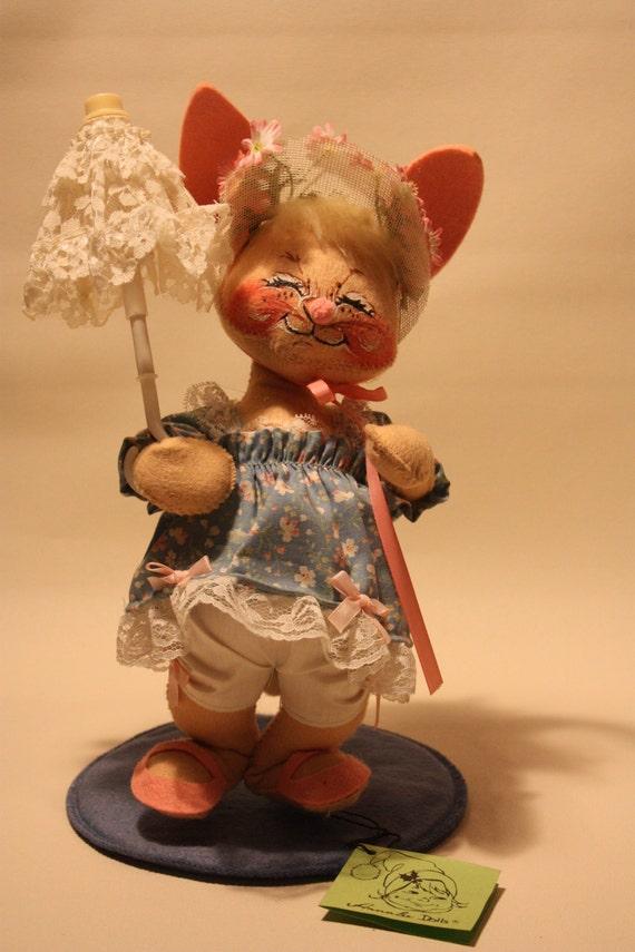 Vintage Annalee Bunny Puppe   Etsy