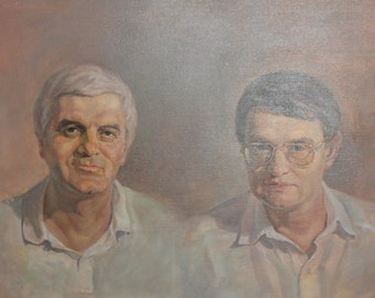 Males Portraits Oil Painting