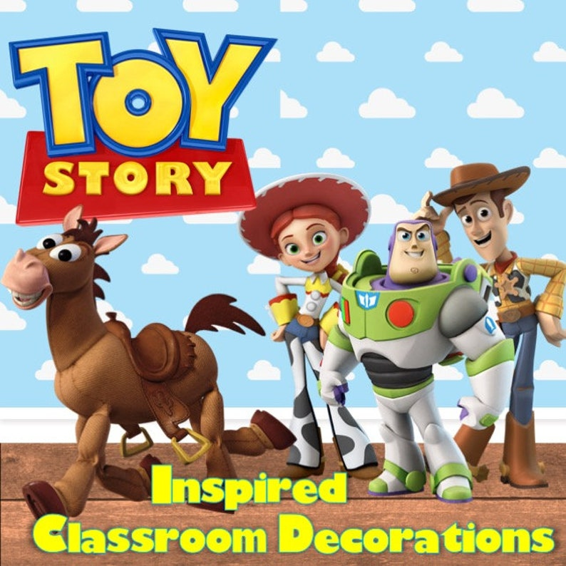 Toy Story Classroom Decorations