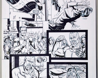 Judge Dredd. The Natural Page 4 INKS