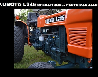KUBOTA RCK Mower Workshop and Parts Manuals 140pgs for | Etsy