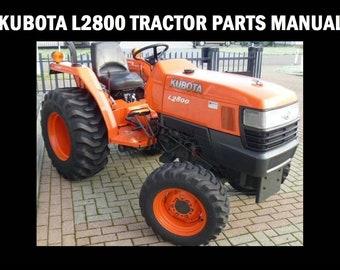Kubota L3710 Parts Manual - Various Owner Manual Guide • on new case ih tractor, kubota l3000 manual, kubota b7510,