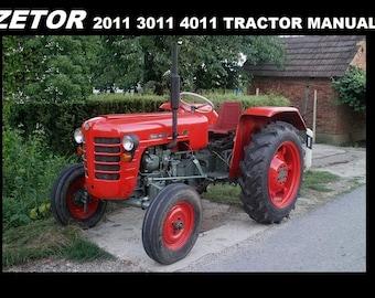 Zetor tractors | Etsy