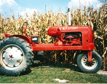 bf avery tractor operations and parts manual collection - for b f  avery a  tractor service and repair