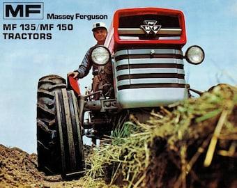Massey Ferguson MF 35 Tractor Parts Manual 340 pgs for MF35 | Etsy