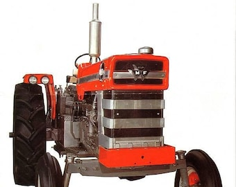 MASSEY FERGUSON 205 210 220 Service Manual over 250pgs  for
