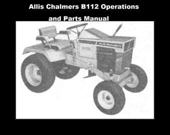 ALLIS CHALMERS D17 COMPLETE PARTs MANUALs 300pg w/ D-17 | Etsy