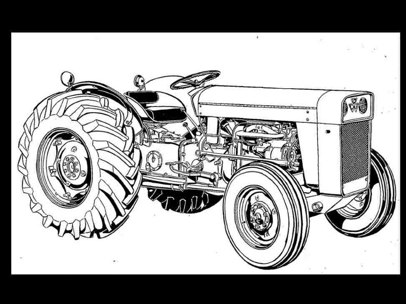 Mey Ferguson TO-35 MF 202 204 Tractor Parts Manual + Gas & Diesel Spares on