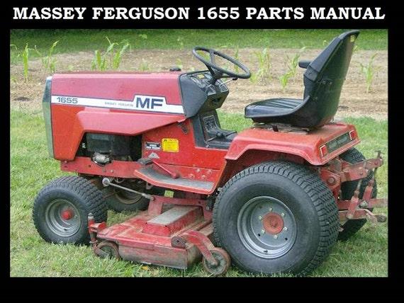 massey ferguson mf 1655 parts manual for mf1655 tractor etsy rh etsy com Massey 1020 Tractor massey ferguson 1655 parts manual