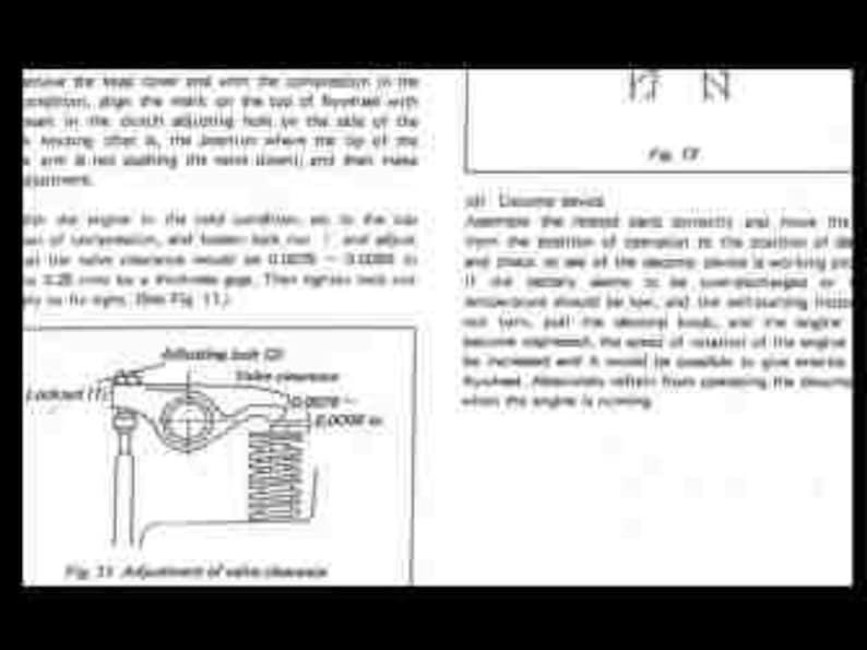 KUBOTA B6000 WORKSHOP & OPERATIONs Manual w/ Workshop Engine and Repair