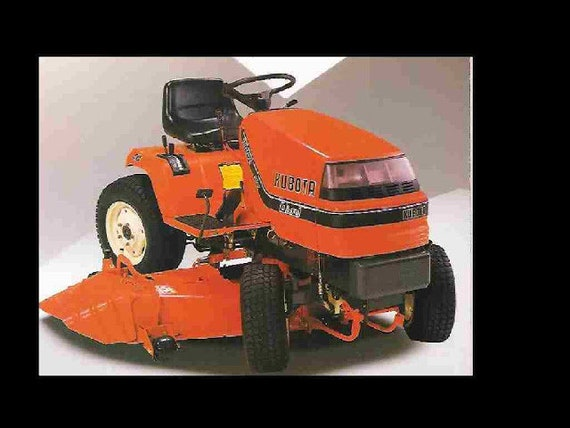 Kubota G1800 Tractor Parts Manual 100pgs For G 1800 Tractor Etsy