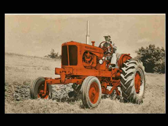 Allis Chalmers Wd Wiring Schematic Diagram : Allis chalmers wd tractor service overhaul manuals with etsy