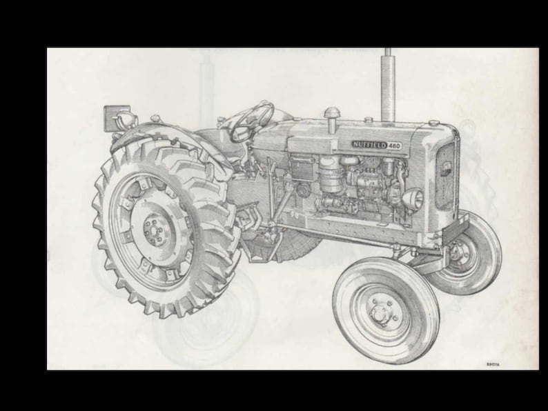 nuffield 342 460 3dl 4dm 10 42 10 60 parts manual for tractor service \u0026 repair 500pgs with exploded diagrams Labeled Engine Parts Diagram 3.8L