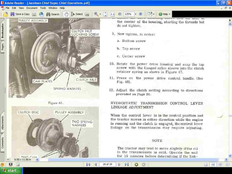 Jacobsen Tractor Wiring Diagram - Wiring Diagram Save on
