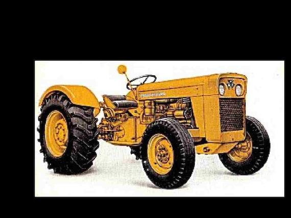 massey ferguson 205 210 220 service manual over 250pgs for rh etsy com massey ferguson 210-4 manual Massey Ferguson 210 Parts