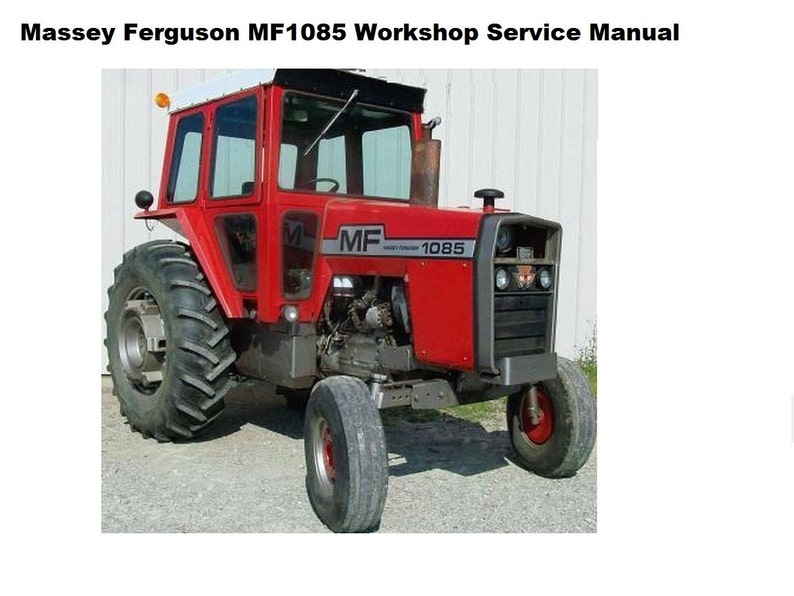 Massey Ferguson 1135 Problems