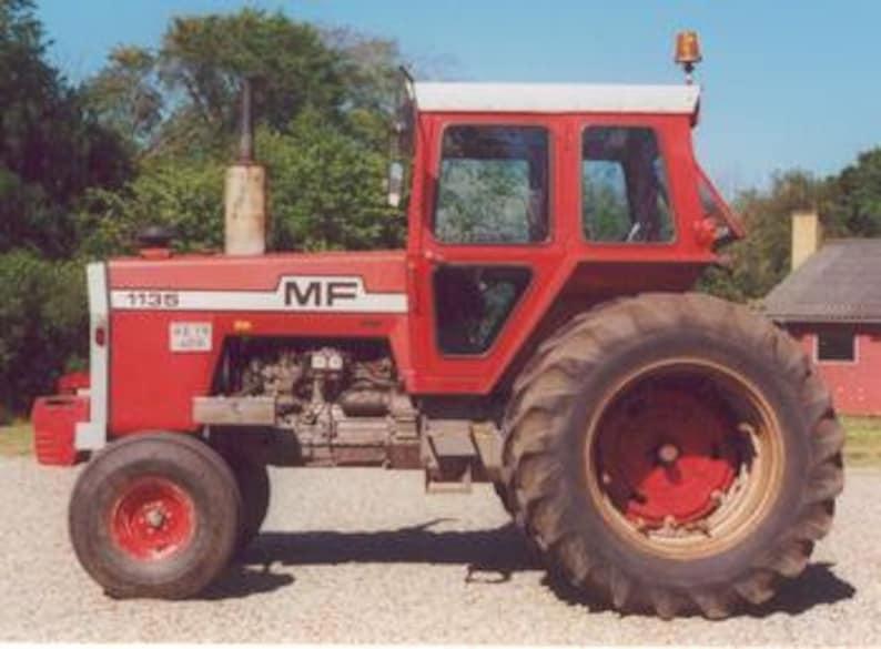 MASSEY FERGUSON MF 1105 1135 1155 Tractor Operations Manual for MF1105  MF1155 Service Maintenance & Repair