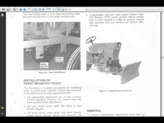 Power King Economy Tractor Wiring Diagram